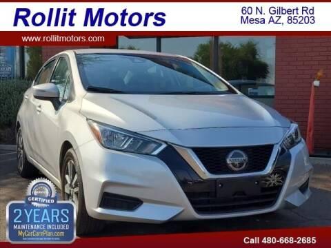 2020 Nissan Versa for sale at Rollit Motors in Mesa AZ