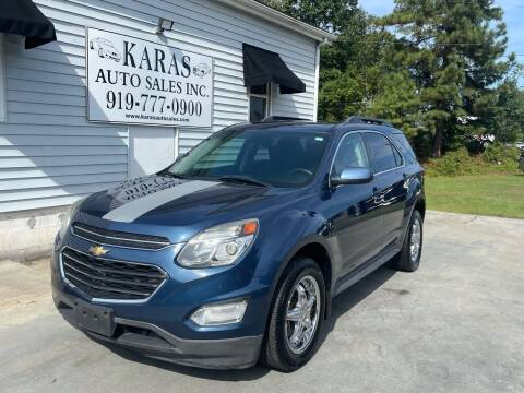 2016 Chevrolet Equinox for sale at Karas Auto Sales Inc. in Sanford NC