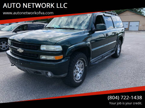 2004 Chevrolet Suburban for sale at AUTO NETWORK LLC in Petersburg VA