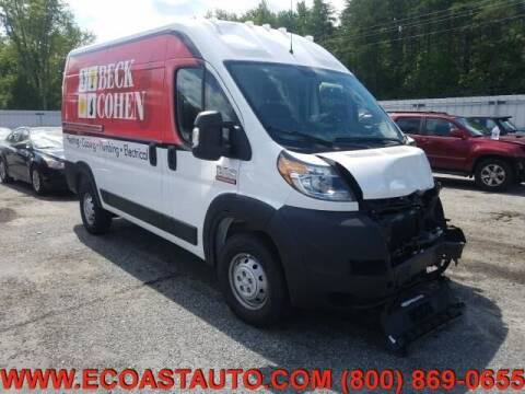 2020 RAM ProMaster Cargo for sale at East Coast Auto Source Inc. in Bedford VA
