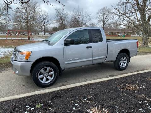 2011 Nissan Titan for sale at Clarks Auto Sales in Connersville IN