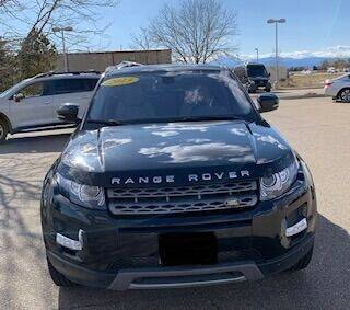 2013 Land Rover Range Rover Evoque for sale at Utah Credit Approval Auto Sales in Murray UT