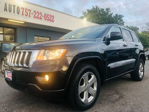 2012 Jeep Grand Cherokee for sale at Trimax Auto Group in Norfolk VA