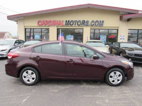 2017 Kia Forte for sale at Cardinal Motors in Fairfield OH