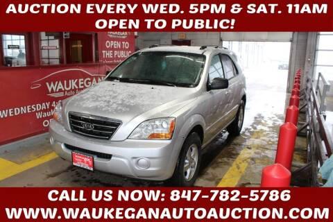 2008 Kia Sorento for sale at Waukegan Auto Auction in Waukegan IL