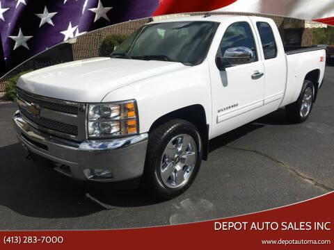 2013 Chevrolet Silverado 1500 for sale at Depot Auto Sales Inc in Palmer MA