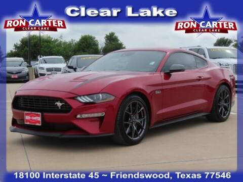 2020 Ford Mustang for sale at Ron Carter  Clear Lake Used Cars in Houston TX