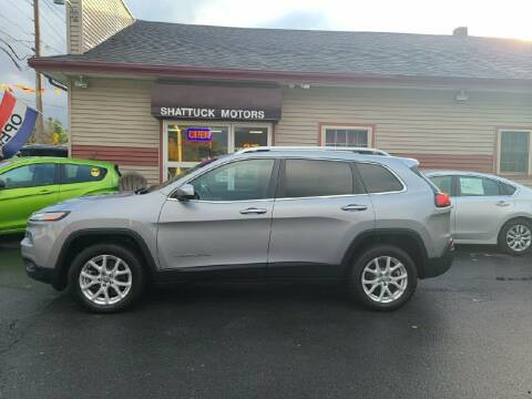 2014 Jeep Cherokee for sale at Shattuck Motors in Newport VT