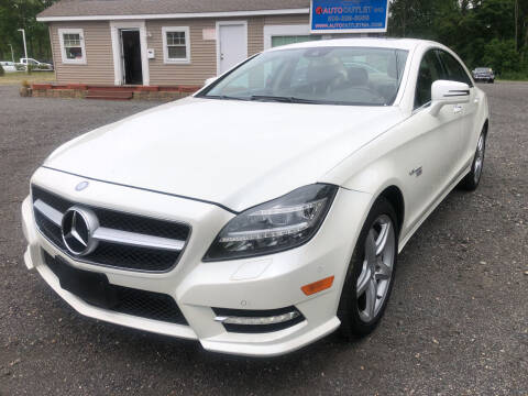 2012 Mercedes-Benz CLS for sale at AUTO OUTLET in Taunton MA