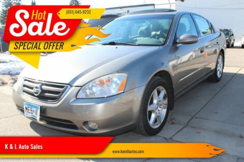 2004 Nissan Altima for sale at K & L Auto Sales in Saint Paul MN