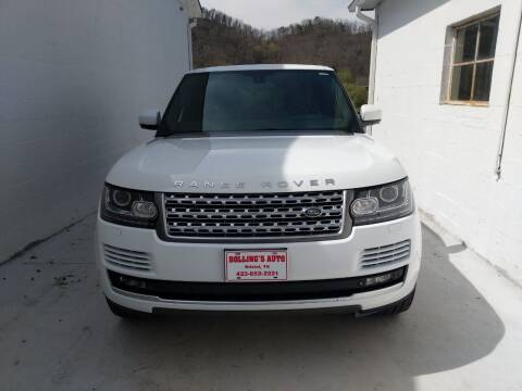 2015 Land Rover Range Rover for sale at BOLLING'S AUTO in Bristol TN