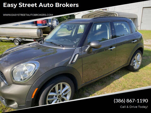 2012 MINI Cooper Countryman for sale at Easy Street Auto Brokers in Lake City FL