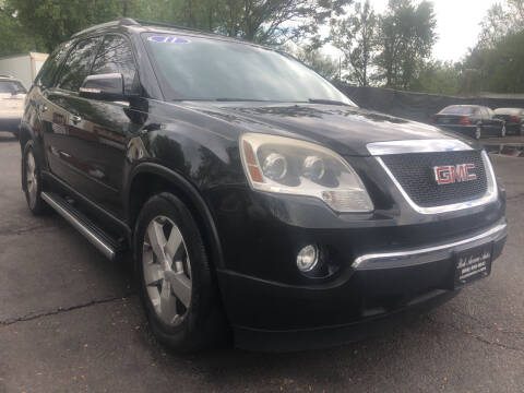 2011 GMC Acadia for sale at PARK AVENUE AUTOS in Collingswood NJ
