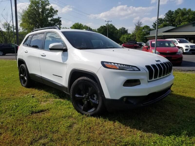 2015 Jeep Cherokee for sale at Ridgeway's Auto Sales in West Frankfort IL