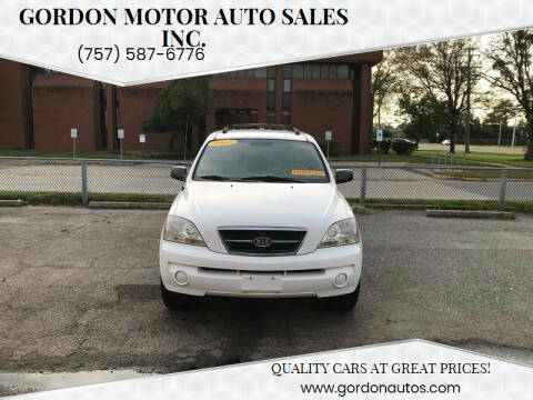 2005 Kia Sorento for sale at Gordon Motor Auto Sales Inc. in Norfolk VA