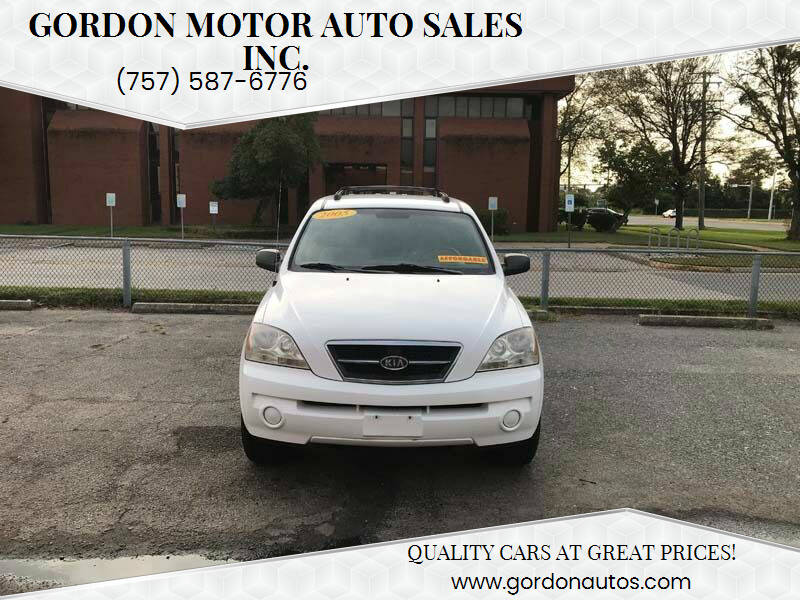 2005 Kia Sorento for sale at Gordon Motor Auto Sales Inc. in Norfolk VA