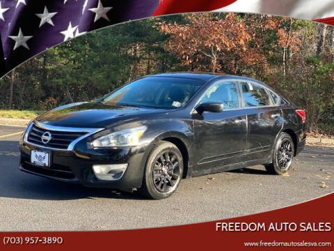 2013 Nissan Altima for sale at Freedom Auto Sales in Chantilly VA