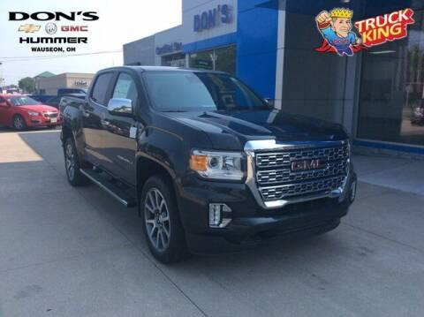 2021 GMC Canyon for sale at DON'S CHEVY, BUICK-GMC & CADILLAC in Wauseon OH