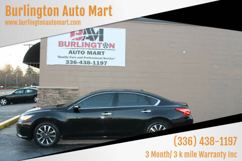2016 Nissan Altima for sale at Burlington Auto Mart in Burlington NC