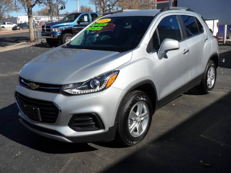 2018 Chevrolet Trax for sale at T & S Auto Brokers in Colorado Springs CO