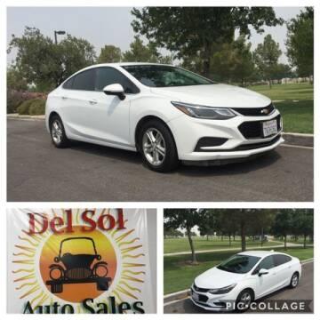 2017 Chevrolet Cruze for sale at Del Sol Auto Sales in Las Vegas NV