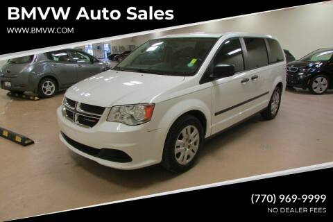 2016 Dodge Grand Caravan for sale at BMVW Auto Sales in Union City GA