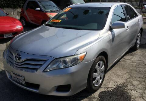 2011 Toyota Camry for sale at Eden Motor Group in Los Angeles CA
