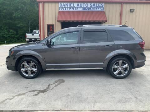 2016 Dodge Journey for sale at Daniel Used Auto Sales in Dallas GA