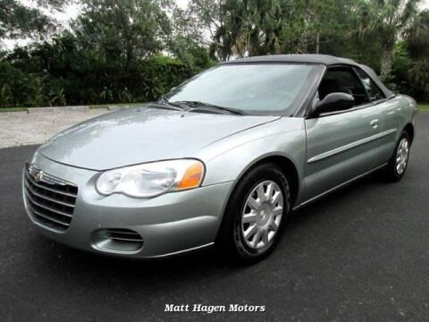 2004 Chrysler Sebring for sale at Matt Hagen Motors in Newport NC