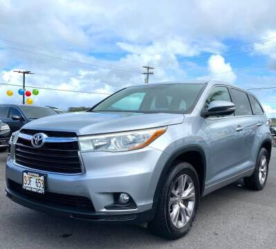 2015 Toyota Highlander for sale at PONO'S USED CARS in Hilo HI