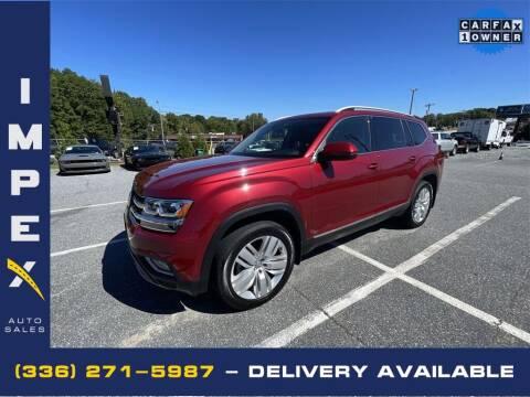 2018 Volkswagen Atlas for sale at Impex Auto Sales in Greensboro NC
