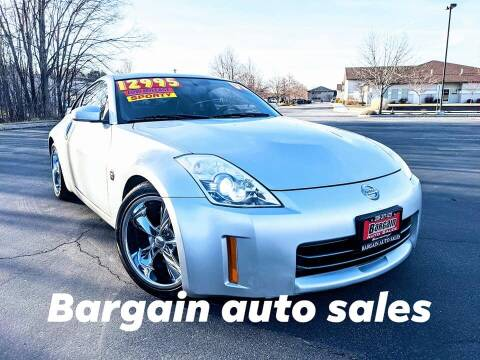 2008 Nissan 350Z for sale at Bargain Auto Sales LLC in Garden City ID