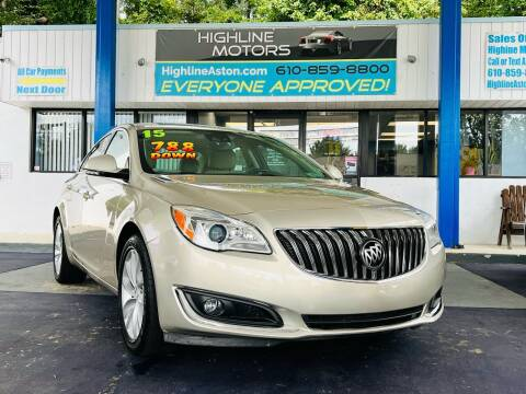 2015 Buick Regal for sale at Highline Motors in Aston PA