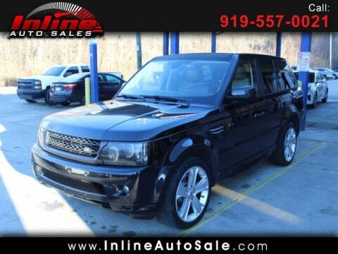 2010 Land Rover Range Rover Sport for sale at Inline Auto Sales in Fuquay Varina NC