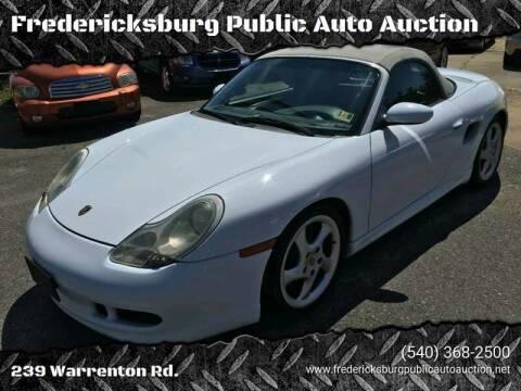 1999 Porsche Boxster for sale at FPAA in Fredericksburg VA