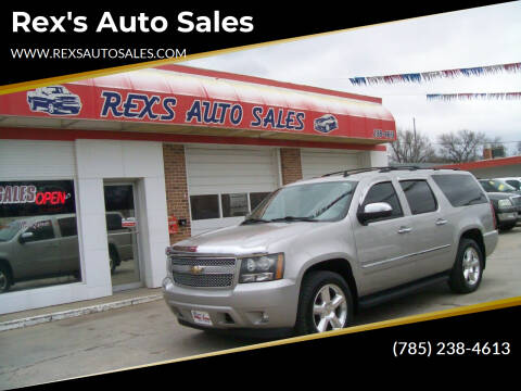 2009 Chevrolet Suburban for sale at Rex's Auto Sales in Junction City KS
