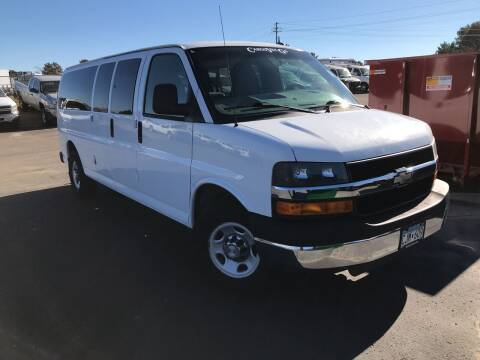 2011 Chevrolet Express Passenger for sale at CARGO VAN GO.COM in Shakopee MN