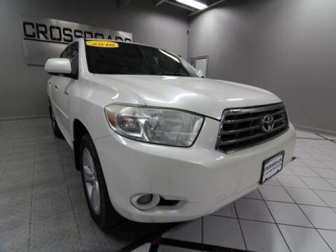 2010 Toyota Highlander for sale at Crossroads Car & Truck in Milford OH