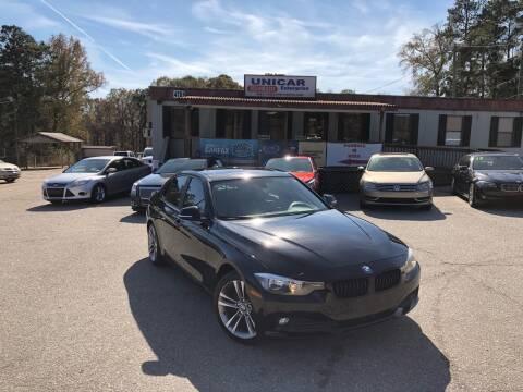 2015 BMW 3 Series for sale at Unicar Enterprise in Lexington SC