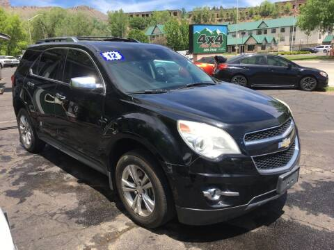 2012 Chevrolet Equinox for sale at 4X4 Auto Sales in Durango CO