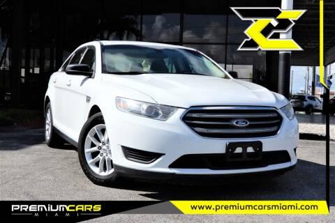 2015 Ford Taurus for sale at Premium Cars of Miami in Miami FL