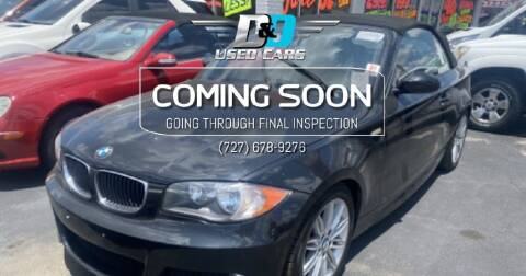 2009 BMW 1 Series for sale at D & D Used Cars in New Port Richey FL