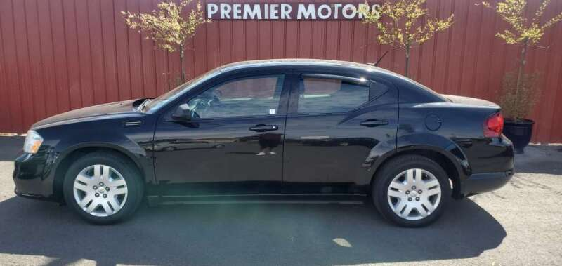 2013 Dodge Avenger for sale at PREMIERMOTORS  INC. in Milton Freewater OR