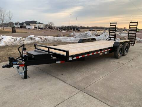 2021 H&H Industrial 14K  #8752 for sale at Prairie Wind Trailers, LLC in Harrisburg SD