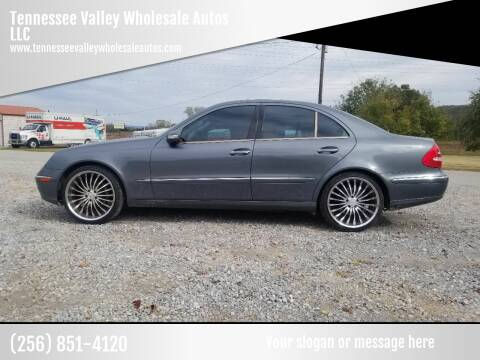 2006 Mercedes-Benz E-Class for sale at Tennessee Valley Wholesale Autos LLC in Huntsville AL