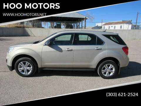 2012 Chevrolet Equinox for sale at HOO MOTORS in Kiowa CO