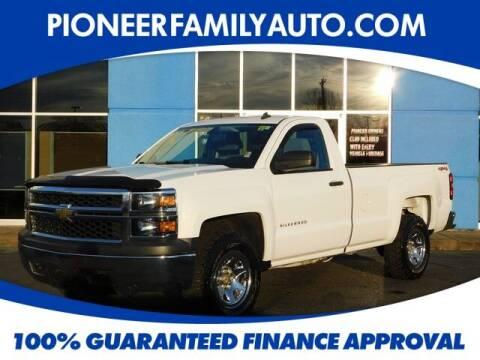 2014 Chevrolet Silverado 1500 for sale at Pioneer Family auto in Marietta OH