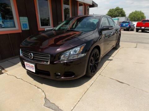 2014 Nissan Maxima for sale at Autoland in Cedar Rapids IA