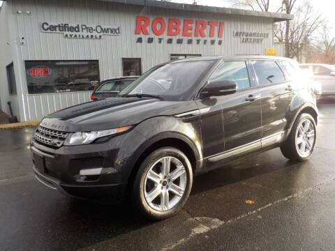 2013 Land Rover Range Rover Evoque for sale at Roberti Automotive in Kingston NY