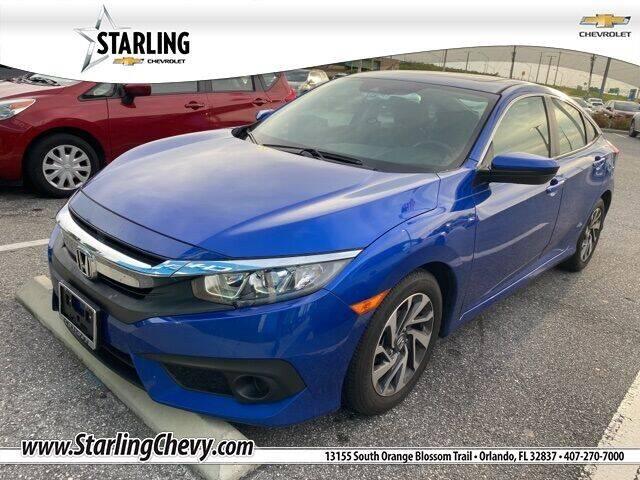 2018 Honda Civic for sale at Pedro @ Starling Chevrolet in Orlando FL
